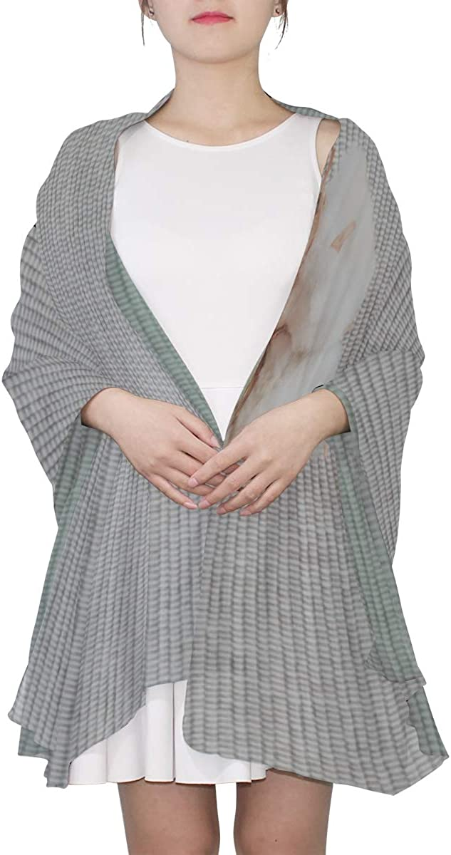 Fashion Scarf For Women White And Clean Cotton Wrap Shawl For Women Men Lightweight Scarf Lightweight Print Scarves Colored Shawl Wrap Thin Scarfs For Women Lightweight