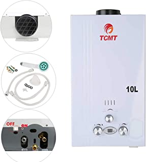 TC-Home 10L 2.6 GPM LPG Gas Propane Instant Tankless Hot Water Heater Boiler Bath