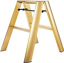 Hasegawa Ladders Lucano Step Stool Premium Edition 2 Step Gold