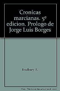 Cronicas marcianas. 5º edicion. Prologo de Jorge Luis Borges
