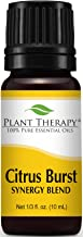 Plant Therapy Citrus Burst Synergy Essential Oil Blend 10 mL (1/3 oz) 100% Pure, Undiluted, Therapeutic Grade