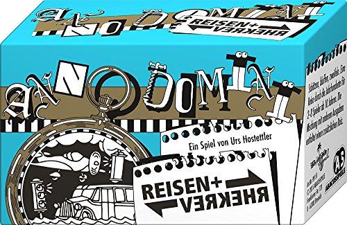 ABACUSSPIELE 09151 - Anno Domini - Reisen & Verkehr, Quizspiel, Schätzspiel, Kartenspiel