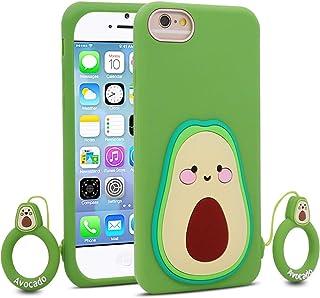 BEFOSSON - Funda de aguacate para iPhone 6 / iPhone 6S para niñas, adolescentes y niños (4,7 pulgadas), iPhone 6 / iPhone ...