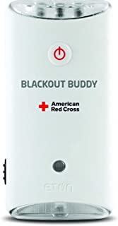 American Red Cross Blackout Buddy the Emergency LED Flashlight, Blackout Alert and Nightlight, Lights Up Automatically When There is a Power Failure. (4 pack)