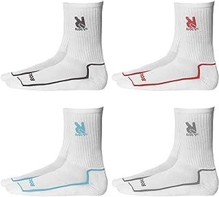 ROLY, Pack de 4 pares de calcetines para Adultos y Niños