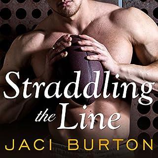 Straddling the Line audiobook cover art
