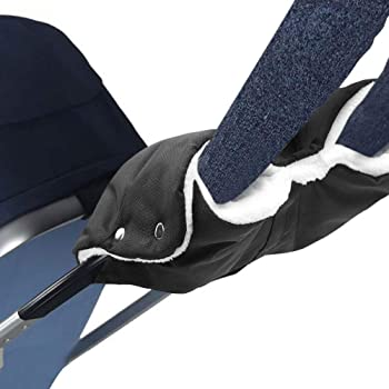 Handschuhe Handmuff mit warme Fleece und Baumwolle Innenseite Buggy Radanh/änger Wasserdicht Universalgr/ö/ße f/ür Kinderwagen Mture Handw/ärmer Kinderwagen windabweisend atmungsaktiv Fingerw/ärmer