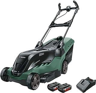 Bosch Cortacésped a batería AdvancedRotak 36-660 (36 Volt, 2x Batería 2,0 Ah, Ancho de corte: 40 cm, Superficies hasta 660...