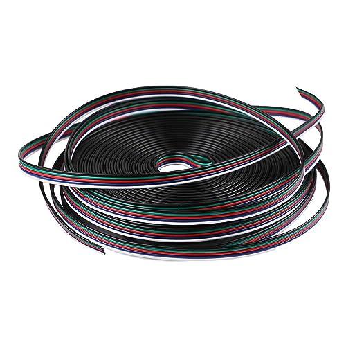 MakerStack Línea de Cable de extensión 22AWG 26.2ft / 8M 5Pin para Tiras de LED
