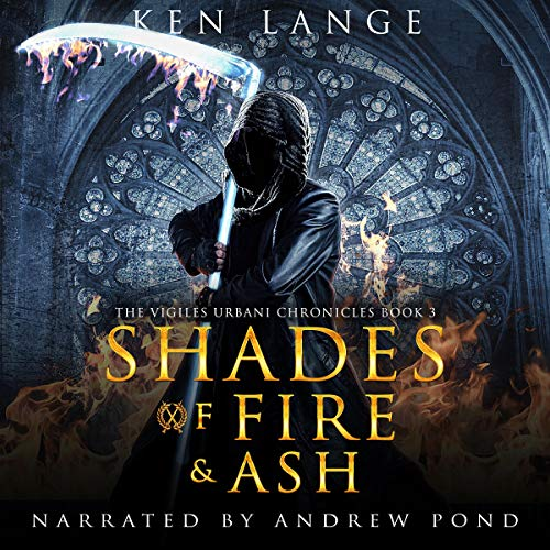 Shades of Fire & Ash  audiobook cover art