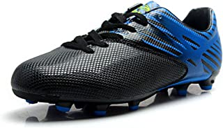Tiebao Boys Men's Anti-Skid Spike Cool Firm Ground Football Shoes Professional Soccer Training Shoes