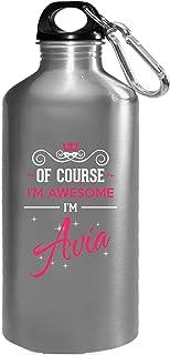 Of Course I'm Awesome I'm Avia Birthday Xmas Gift - Water Bottle