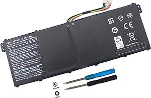 AC14B8K Battery for Acer CB5-571 CB3-531 CB3-111 Aspire R5-471T R5-571T R5-571TG R7-371T N15W5 Swift 3 SF314-51 SF314-52 Nitro 5 AN515-51 AN515-52 AN515-53 Aspire 5 A515-51 4ICP5/57/80