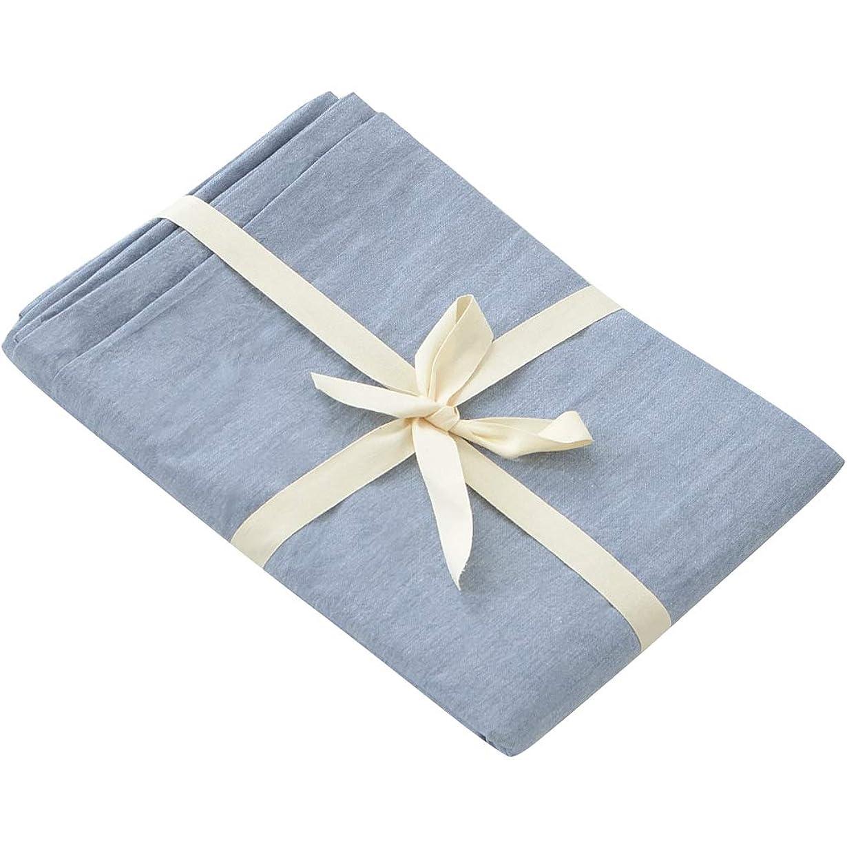 余韻危機泳ぐ枕カバー ピローケース 2枚 綿 北欧 防ダニ 洗える リネン 色褪せない 柔らかい 抗菌 防臭 5色 封筒式 グレー 白 ブルー 48*74cm