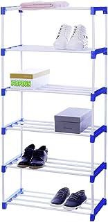 Flipzon Multipurpose Rack Organizer for Shoe/Clothes/Books - (Need to Be Assemble - DIY) - 6 Shelve