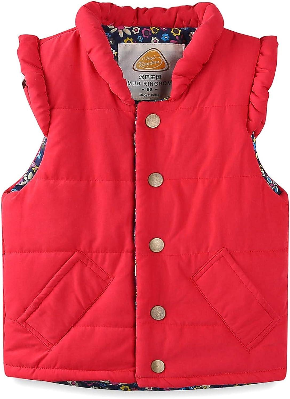 LittleSpring Cute Girls Winter Vest V Max 88% Discount is also underway OFF Puffer Lightweight Quilted