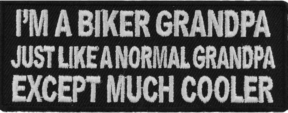 I'm A Biker Grandpa Just Normal Much Coole Super sale period limited wholesale Like Except