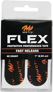 Motiv Flex Protective Performance Tape Black - Pre Cut 40 Pieces