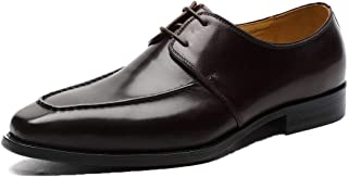 Retro Minimalist Business Oxford Shoes Formal Shoes (Color : Coffee, Size : 46)