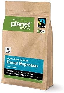 Planet Organic Decaf Espresso Coffee, 250 g