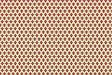 Alkor 3800049 Pellicola Adesiva per Mobili, Effetto Giglio Rosso, 45 cm x 2 m