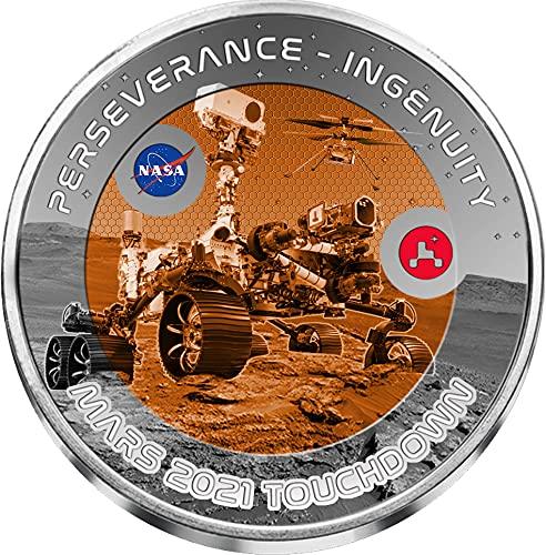 Perseverance Ingenuity Mars Touchdown NASA Rover Moneda Tita