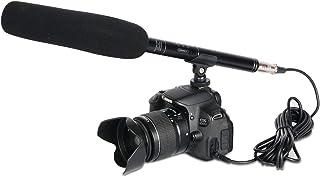 Depusheng A2 Professional Shotgun Interview Microphone Directional Condenser MIC for DSLR DV Camcorders Video Camera Mic