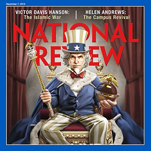 National Review-December 7, 2015 audiobook cover art