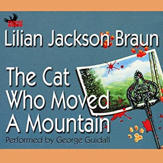 The Cat Who Moved a Mountain audiobook cover art
