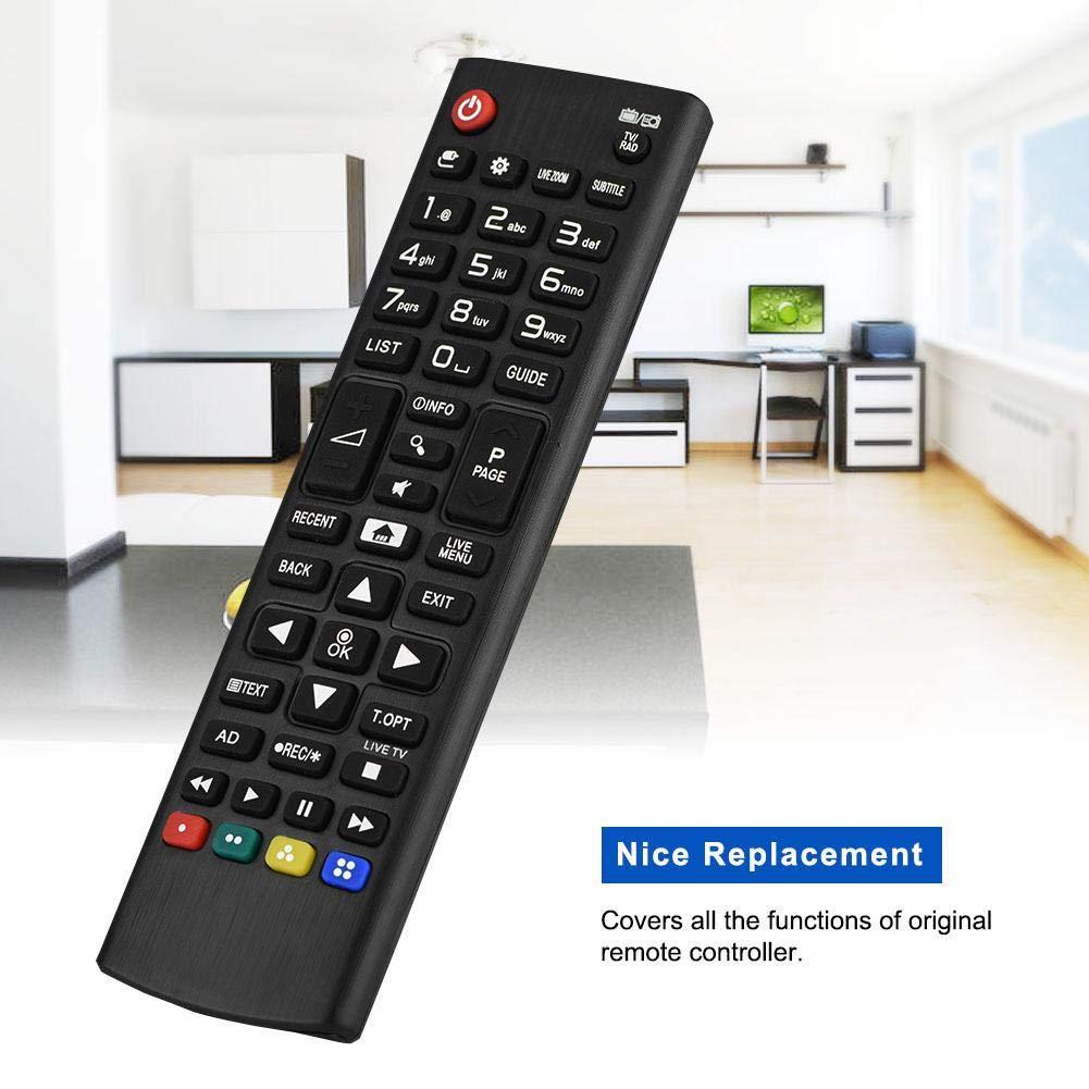 Garsent Mando a Distancia de Repuesto para LG TV, ABS Televisor ...