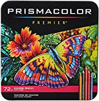 Prismacolor 3599TN Premier Pencils Set 72 Coloured Pencils