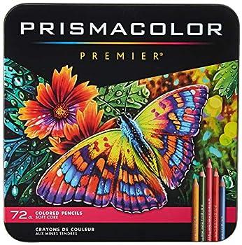 Prismacolor Premier Colored Pencils | Art Supplies for Drawing Sketching Adult Coloring | Soft Core Color Pencils 72 Pack
