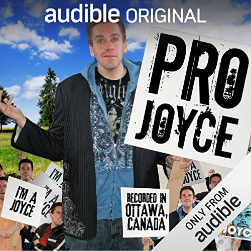 Pro Joyce audiobook cover art
