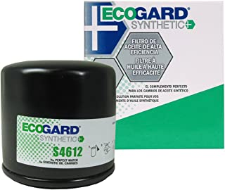 ECOGARD S4612 Spin-On Engine Oil Filter for Synthetic Oil - Premium Replacement Fits Nissan Altima, Sentra, Rogue, Versa, Murano, Maxima, Pathfinder, Quest, Juke, Versa Note, 350Z, Rogue Select