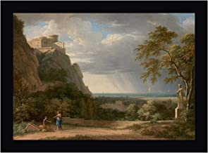 Classical Landscape with Figures and Sculpture by Pierre-Henri de Valenciennes 25