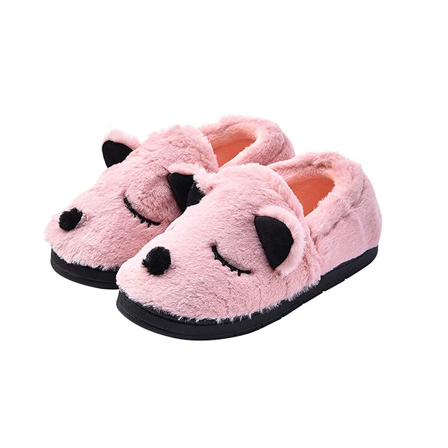 パリティ適合しましたやむを得ない[サマーショップ] コットン スリッパ レディース ルームシューズ 室内履き 靴 冬のコットンスリッパ 防寒 可愛い 女性の靴 滑り止め 暖か 厚底
