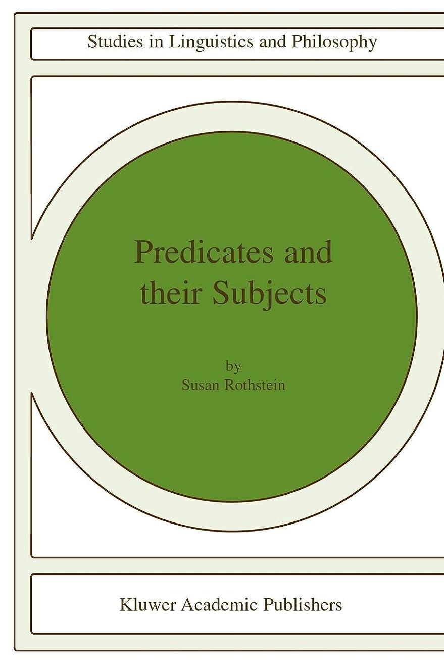 論争的素朴な区画Predicates and Their Subjects (Studies in Linguistics and Philosophy)