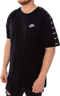 Nike Men's NSW Tee HBR Swoosh 2, Pink(Pink Gaze/ White668), Small
