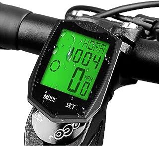 e47e97e11 DINOKA Y&S - Velocímetro inalámbrico para Bicicleta (Impermeable, 5 Idiomas)