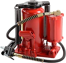 ATE Pro. USA 90344 20 Ton Air/Hydraulic Bottle Jack, 12.6
