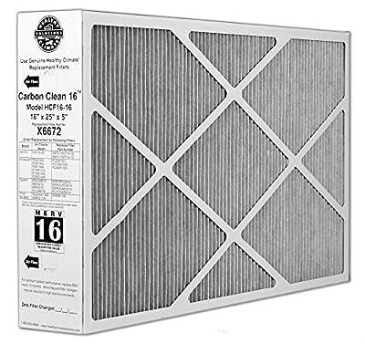 Lennox X6672 Healthy Climate 16x25x5 MERV 16 Filter