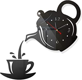 Acrylic Digita Wall Clock, Modern Large 3D Wall Clock, DIY Frameless Mute Decorative Wall Clock Decoration, for Home, Offi...