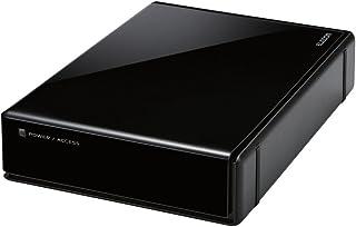 エレコム HDD 外付けハードディスク 3TB SeeQVault対応 静音ファンレス設計 ブラック ELD-QEN030UBK