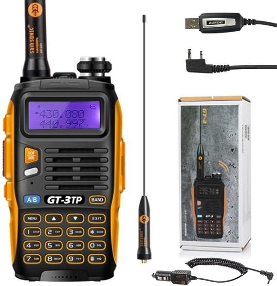 Walkie-Talkie radio Baofeng 3 GT de 3 Mark II UHF/VHF 2 m ...