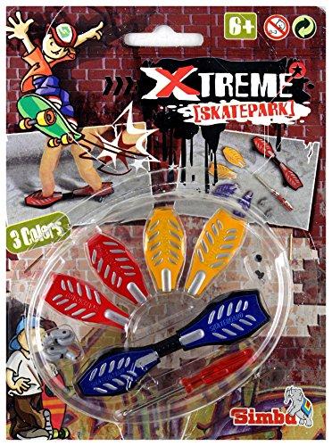 Simba Finger Skateboard Pro trendiges Board mit austauschbaren Decks in verschiedenen Farben, 6J+