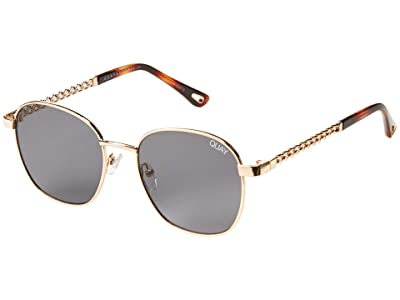 QUAY AUSTRALIA Link Up (Gold/Smoke) Fashion Sunglasses