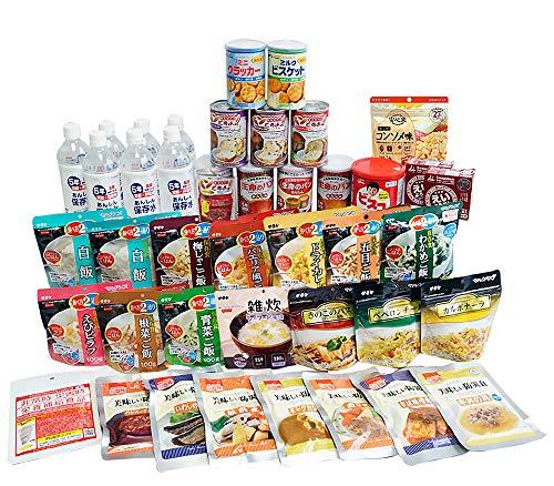 充実の7日分 非常食セット Standard 34種類42品 5年保存 非常食 1人用