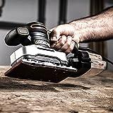 Worx WX642 Schwingschleifer 270 W – Handlicher Schleifer mit Zyklontechnologie für ein sauberes Arbeiten – Großer Schwingkreis & einfache Bedienung - 8