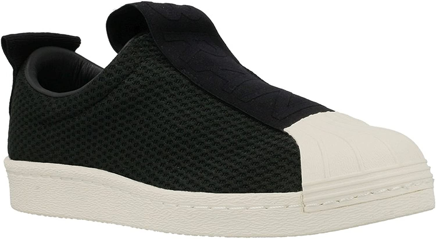 Adidas Womens Superstar Slip-On Low-Top Shell Toe Fashion Sneakers