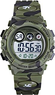 Kids Sports Watch Boys Military Digital Watch Multi...